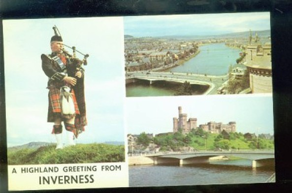 Vintage Inverness Postcard