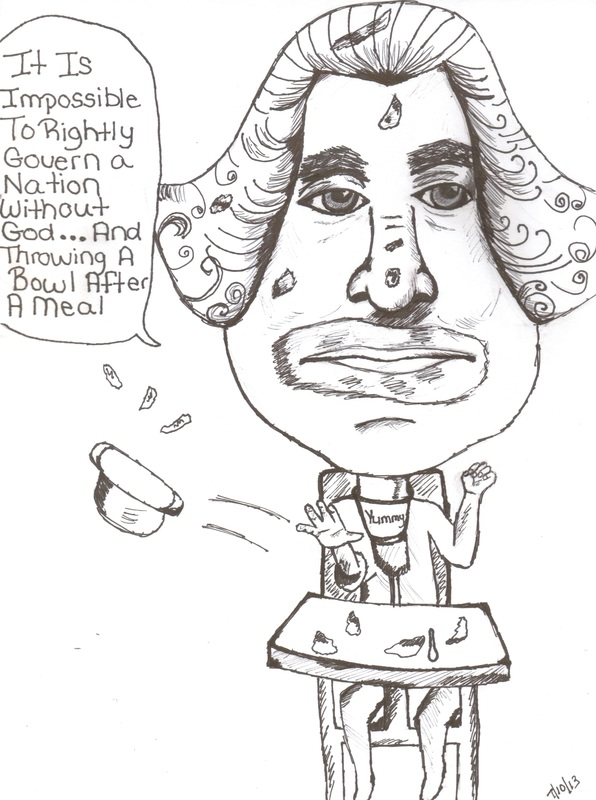 George Washington Caricature