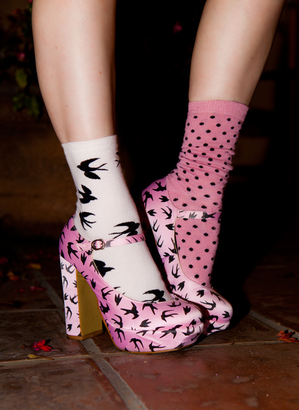 Doe Deere Flamingo Shoes